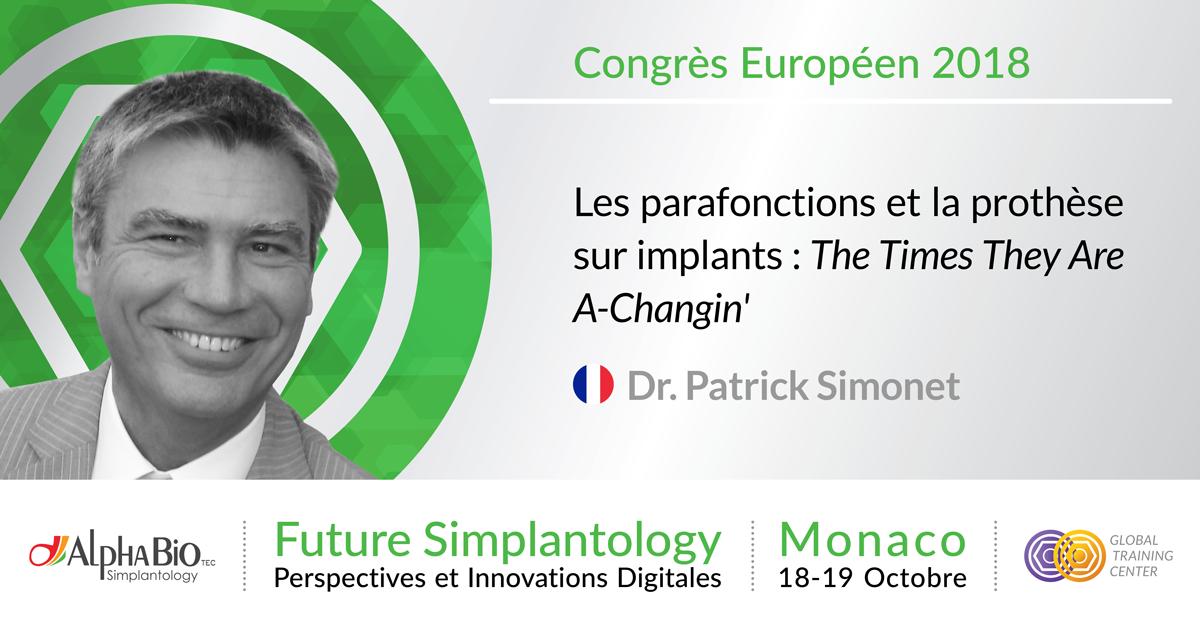 Dr Patrick Simonet