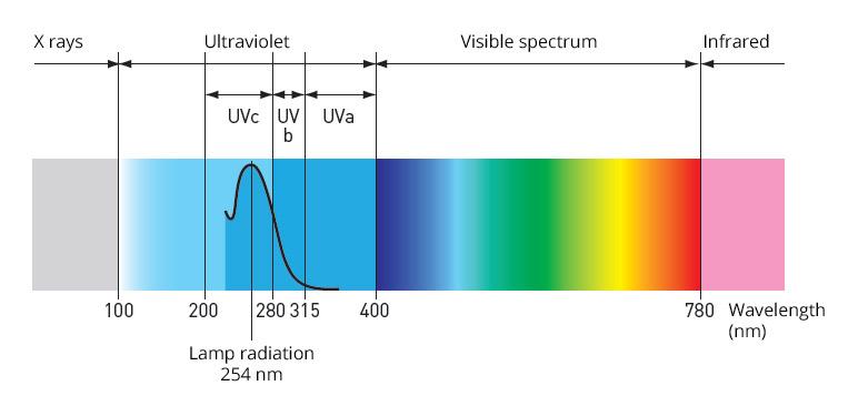 rayons UVC