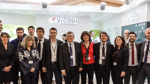 Conférences AlphaBio France au congrès de l'ADF 2018