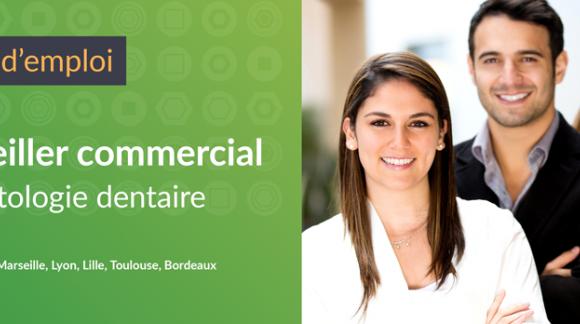 Offre d'emploi : Conseiller commercial (implantologie dentaire)